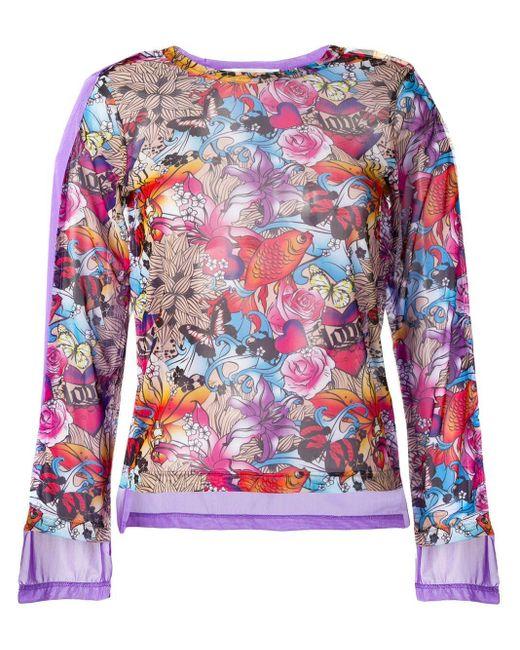 Comme des Garçons プリント スウェットシャツ Multicolor