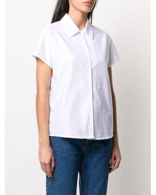 A.P.C. ポインテッドカラー シャツ White