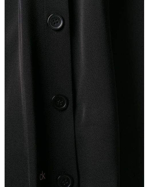 Calvin Klein ノースリーブ トップ Black