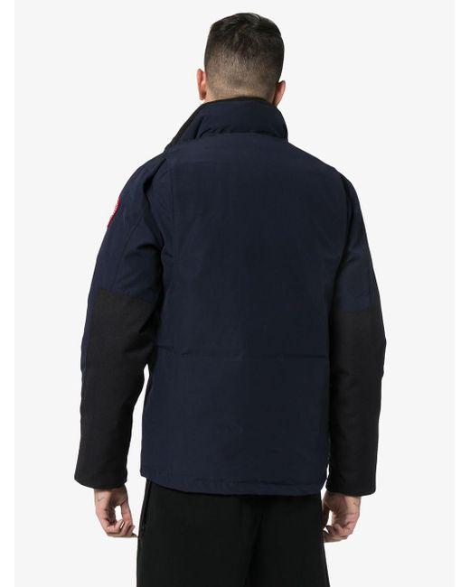 メンズ Canada Goose Forester パデッドジャケット Blue