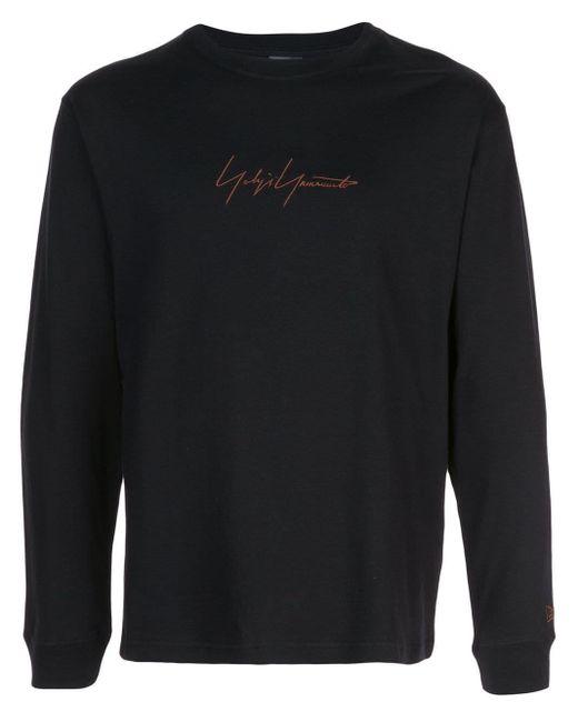 メンズ Yohji Yamamoto ロングtシャツ Black