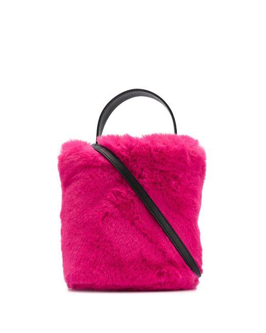 Karl Lagerfeld Karl X Carine バケットバッグ Pink