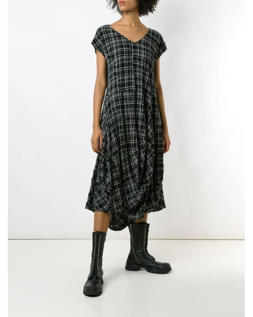 UMA | Raquel Davidowicz チェック ドレス Black