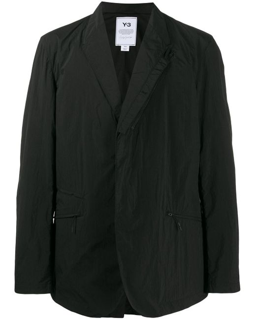 メンズ Y-3 オーバーサイズ ジャケット Black