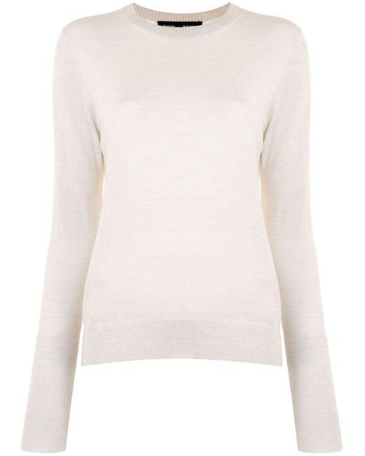 Легкий Джемпер С Круглым Вырезом Proenza Schouler, цвет: White