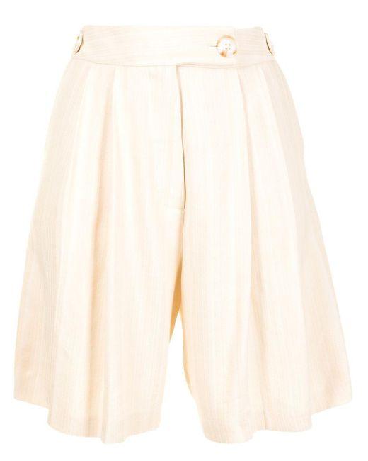 Shorts Vita plisados Anna Quan de color Natural