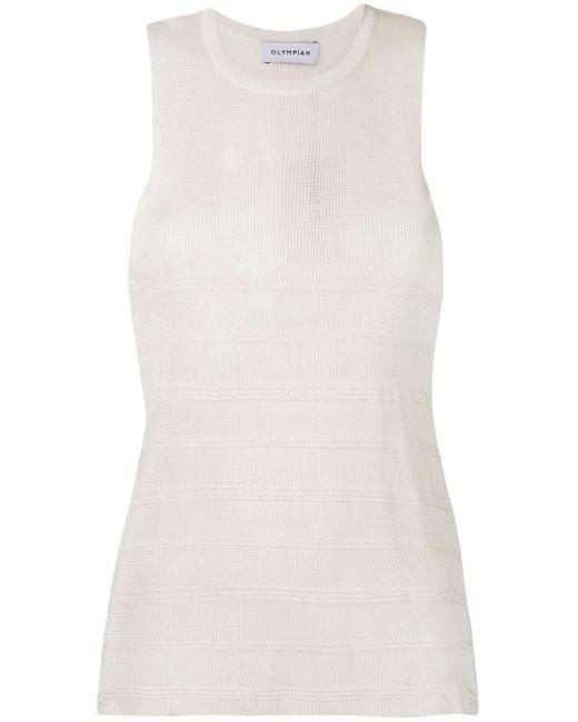 Olympiah White Oseille Knit Tank