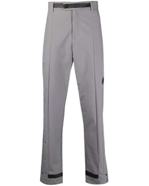 Pantaloni dritti con applicazione di A_COLD_WALL* in Gray da Uomo
