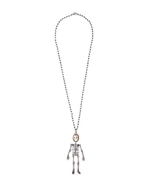 Amedeo - Metallic 'skeledeo' Necklace - Lyst