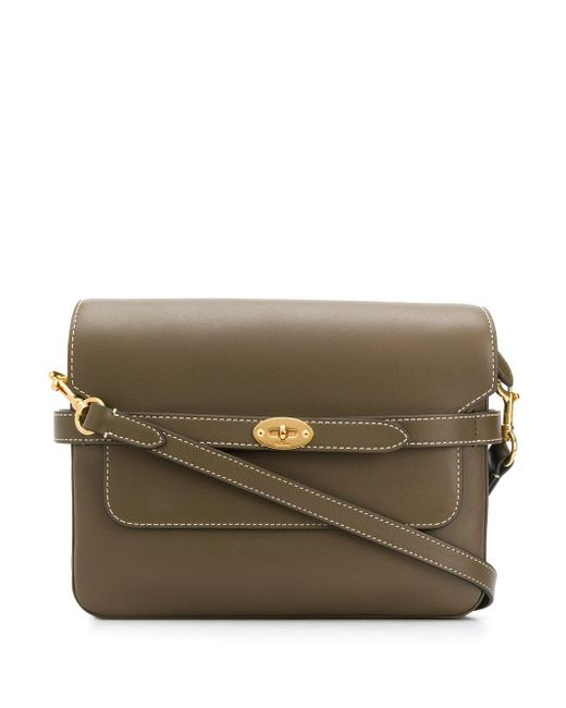 Mulberry Belted Bayswater サッチェルバッグ Green