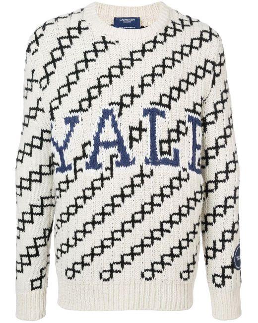メンズ CALVIN KLEIN 205W39NYC Yale セーター Multicolor