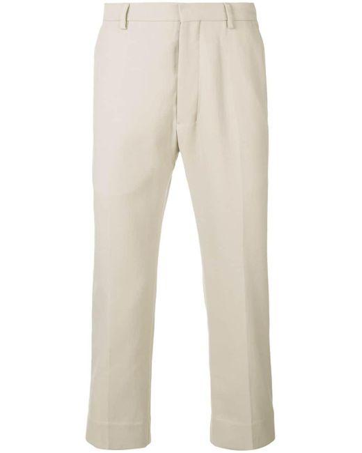 メンズ AMI ストレートフィット パンツ Natural