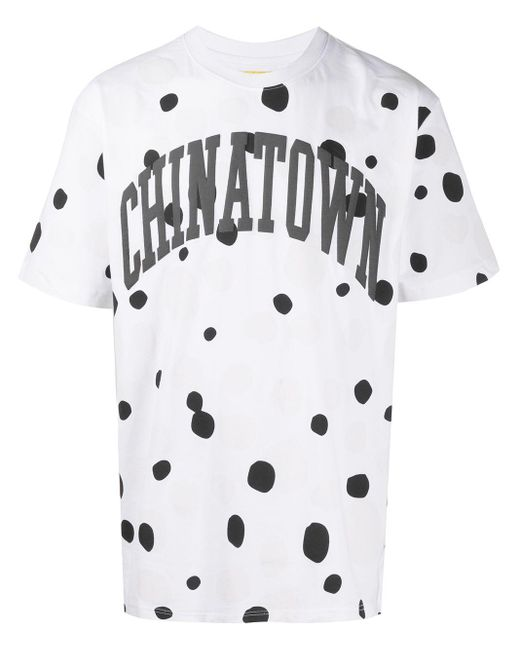 メンズ Chinatown Market Uv Dots Tシャツ White