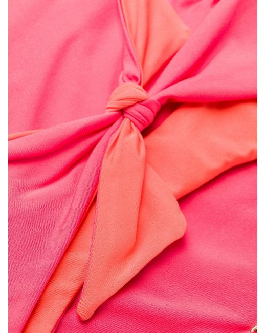 Stella McCartney フロントタイ 水着 Pink
