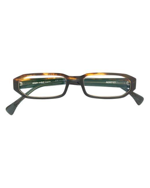 Alain Mikli スクエア 眼鏡フレーム Multicolor