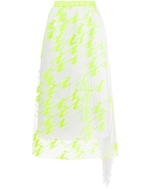 Iceberg レイヤード スカート Multicolor