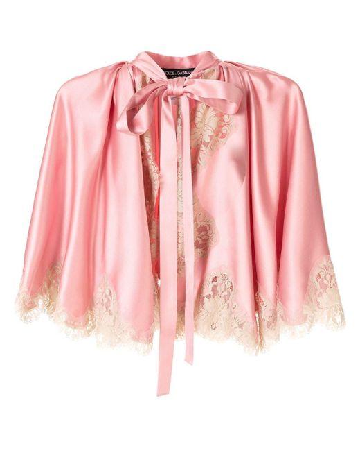 Dolce & Gabbana レース ジャケット Pink