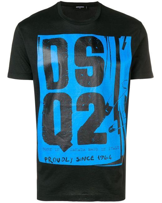 メンズ DSquared² Dsq2 Tシャツ Blue