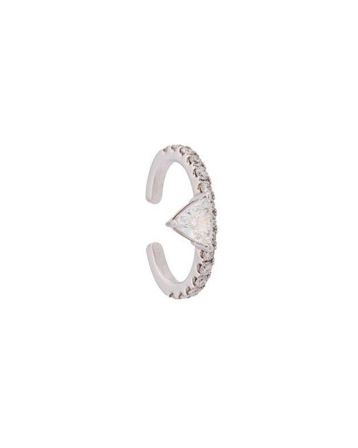 Anita Ko Multicolor Luxe Triangle Diamond Ear Cuff