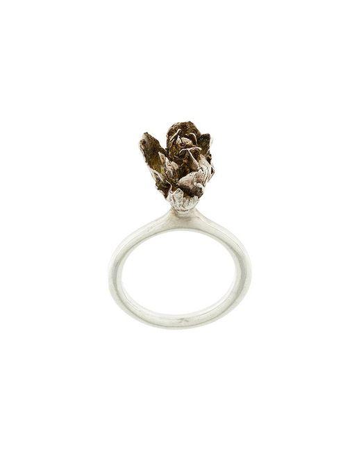 Rosa Maria | Metallic Dhalia Ring | Lyst