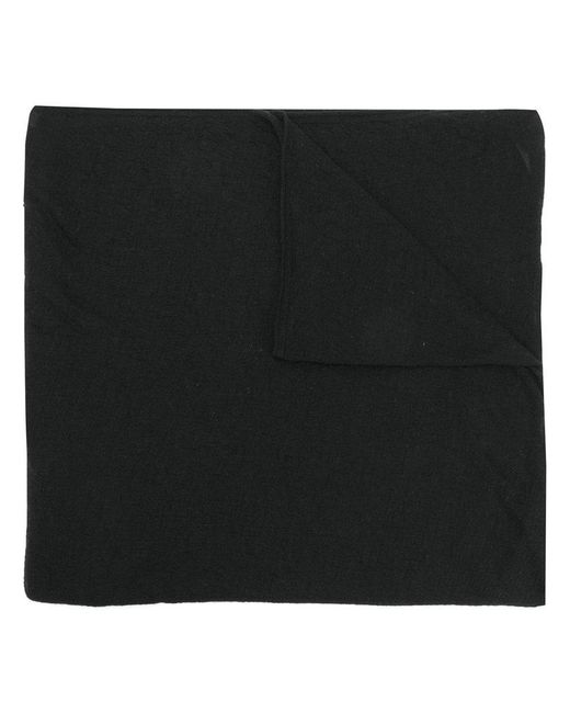 Faliero Sarti - Black Classic Knitted Scarf - Lyst