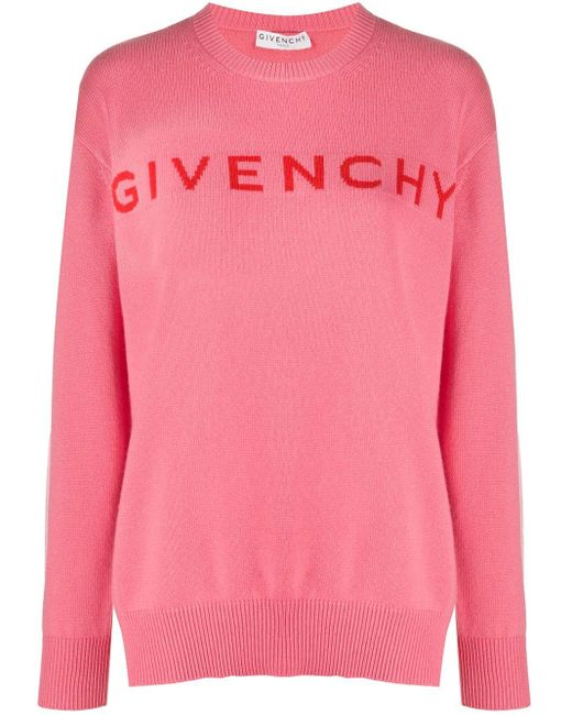 Givenchy ロゴ セーター Pink