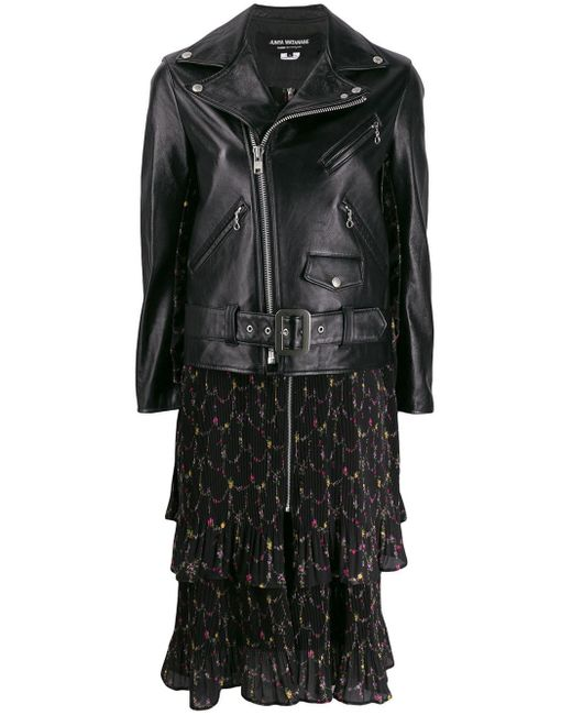 Junya Watanabe ライダースジャケット Black