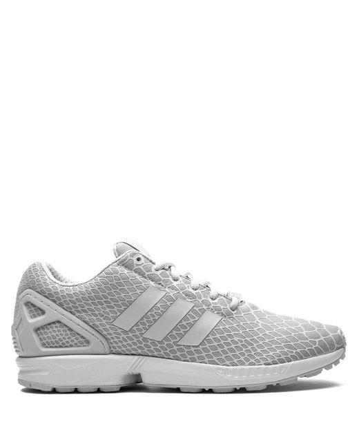 Baskets ZX Flux Techfit Adidas pour homme en coloris Gray