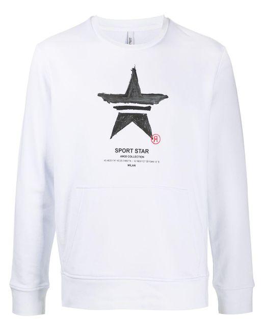 メンズ Neil Barrett グラフィック スウェットシャツ White