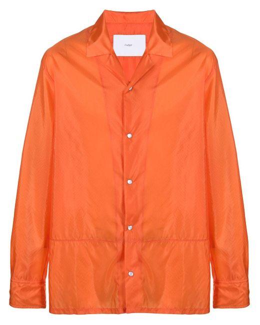 メンズ Goodfight ロングスリーブ シャツ Orange