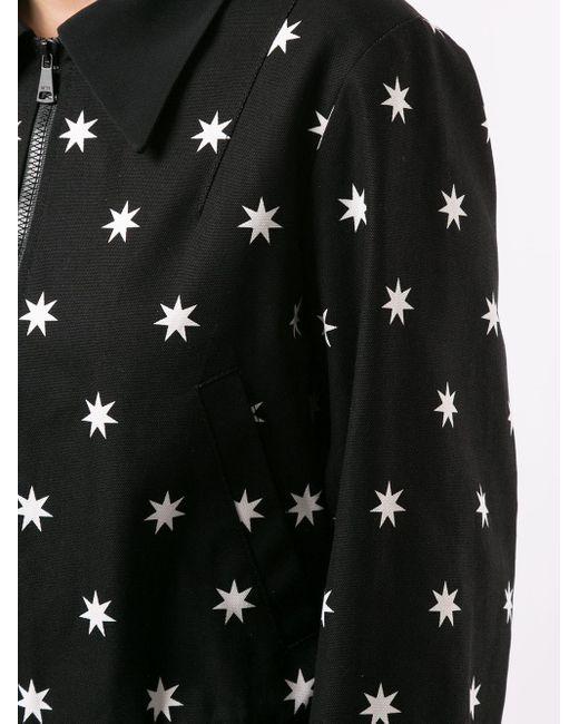 N°21 スター ボンバージャケット Black