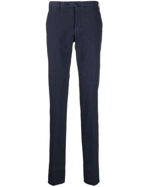 Incotex Blue Slim-cut Tailored Trousers for men
