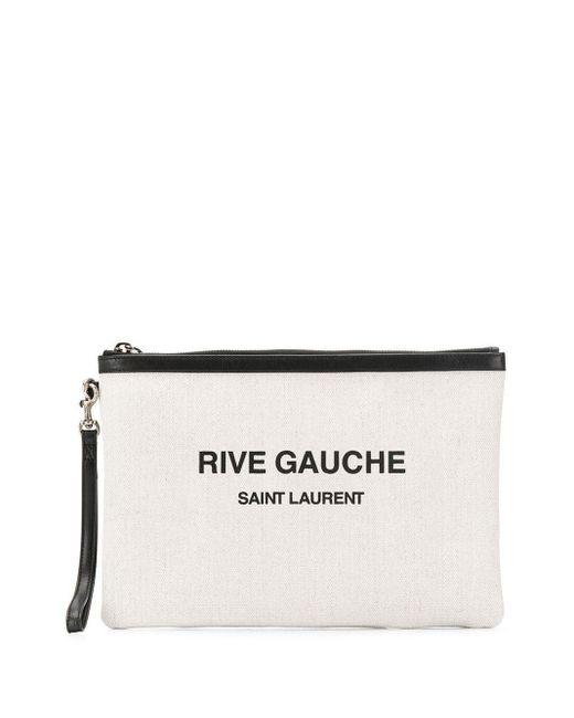 Клатч С Принтом Rive Gauche Saint Laurent для него, цвет: Multicolor