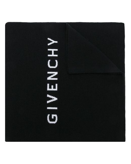 Givenchy ロゴスカーフ Black