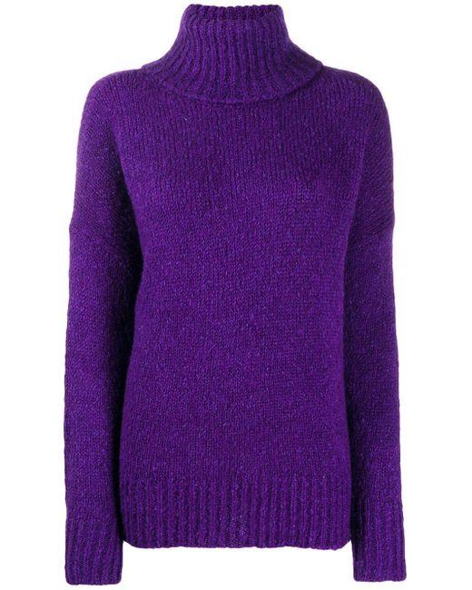 Étoile Isabel Marant Shadow セーター Purple