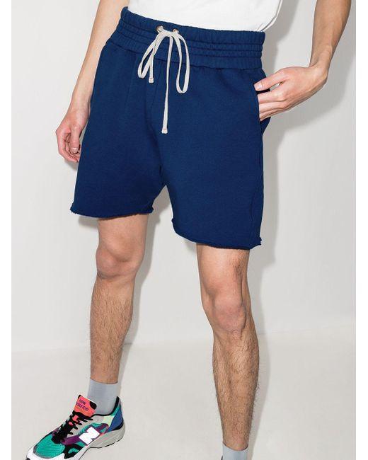 メンズ Les Tien Yacht ジャージー ショートパンツ Blue