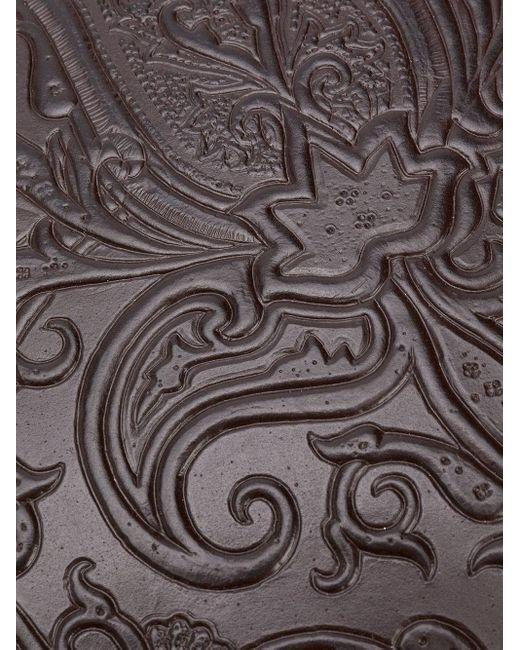 Клатч С Тиснением Пейсли Etro для него, цвет: Brown