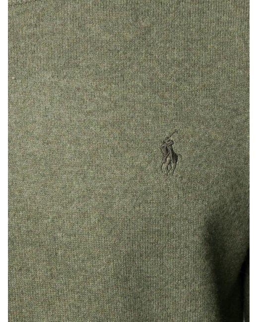 メンズ Polo Ralph Lauren ロゴ セーター Green