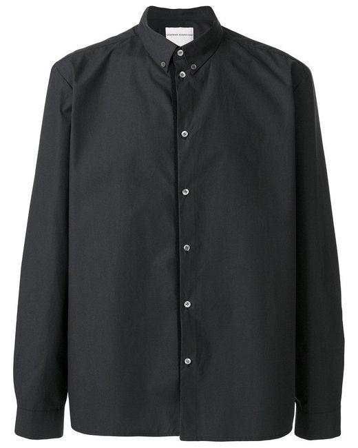 Stephan Schneider - Gray Plain Shirt for Men - Lyst