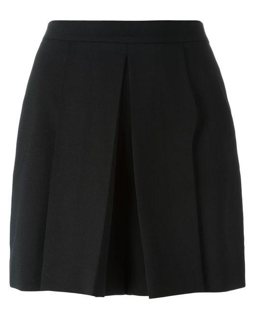 Alexander Wang | Black Pleated Shorts | Lyst