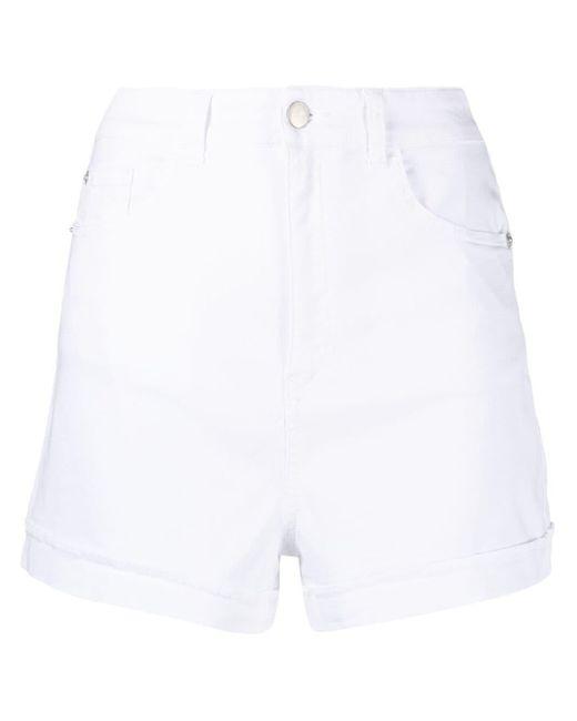 Emporio Armani ロゴ ショートパンツ White