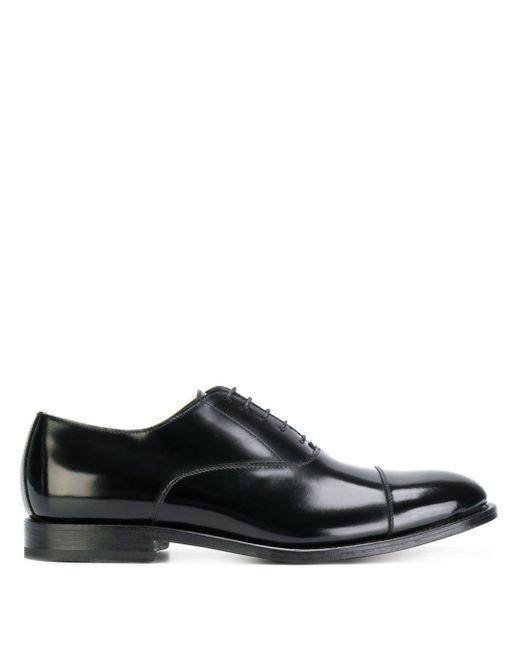 Туфли Оксфорды Dell'Oglio для него, цвет: Black