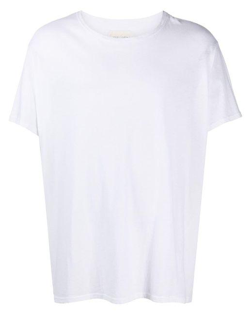 メンズ Greg Lauren グラフィック Tシャツ White