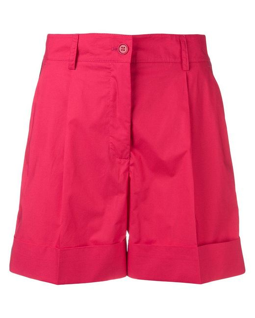 P.A.R.O.S.H. - Red Side Stripe Shorts - Lyst