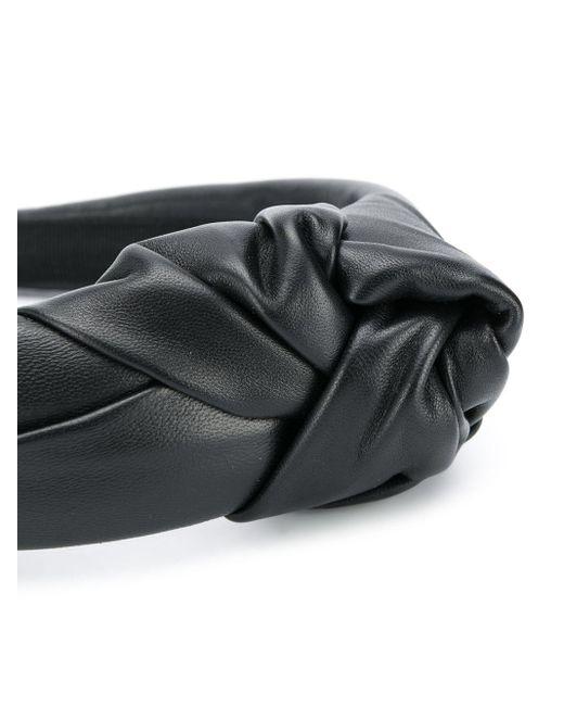 Декорированный Ободок RED Valentino, цвет: Black