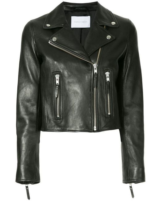 Nobody Denim - Black Classic Leather Jacket - Lyst