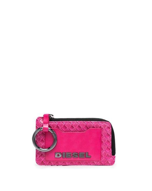DIESEL Ofridge 財布 Pink