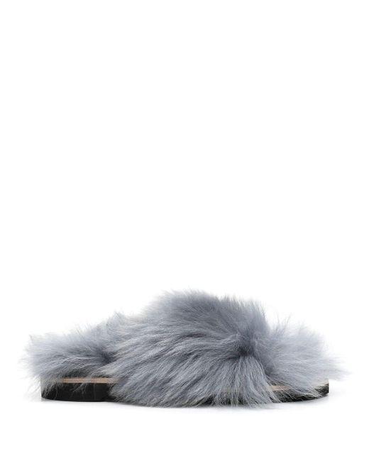 Сандалии Furry Fantasy Dorothee Schumacher, цвет: Blue