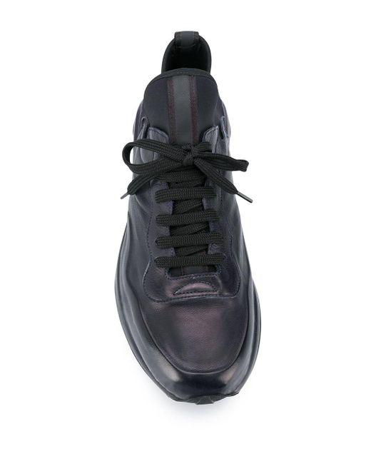 Officine Creative Sneakers mit Einsätzen in Blue für Herren