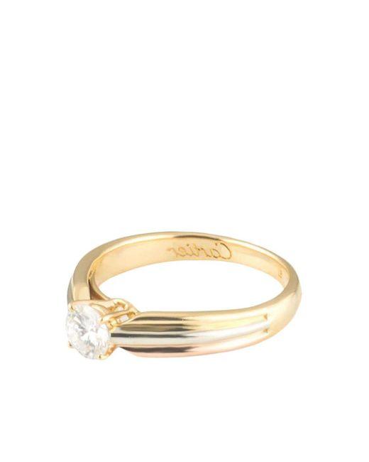 Cartier プレオウンド Trinity ダイヤモンド リング 18kイエローゴールド / 18kローズゴールド / 18kホワイトゴールド Metallic